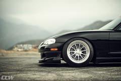Black Mazda NB Miata MX-5 - Polished CCW D11L - 3 Piece Wheels