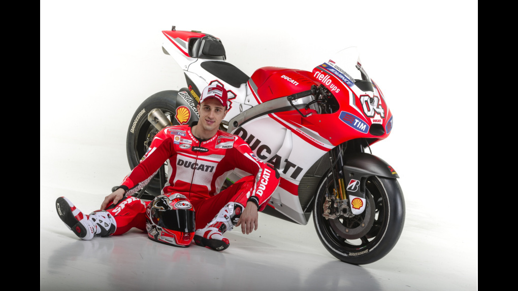 2014 Ducati  | 2014 Ducati MotoGP Press Event - Dovizioso