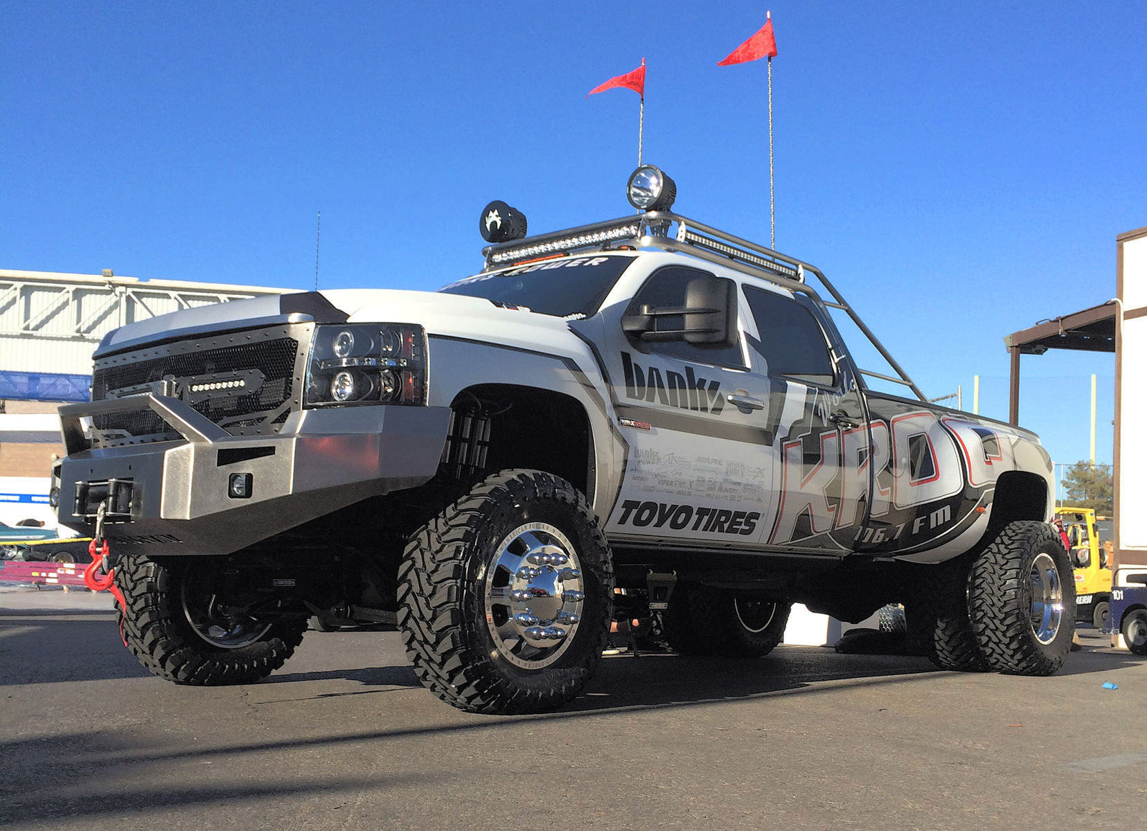 2008 Chevrolet Silverado 3500HD | KROQ project Duramax