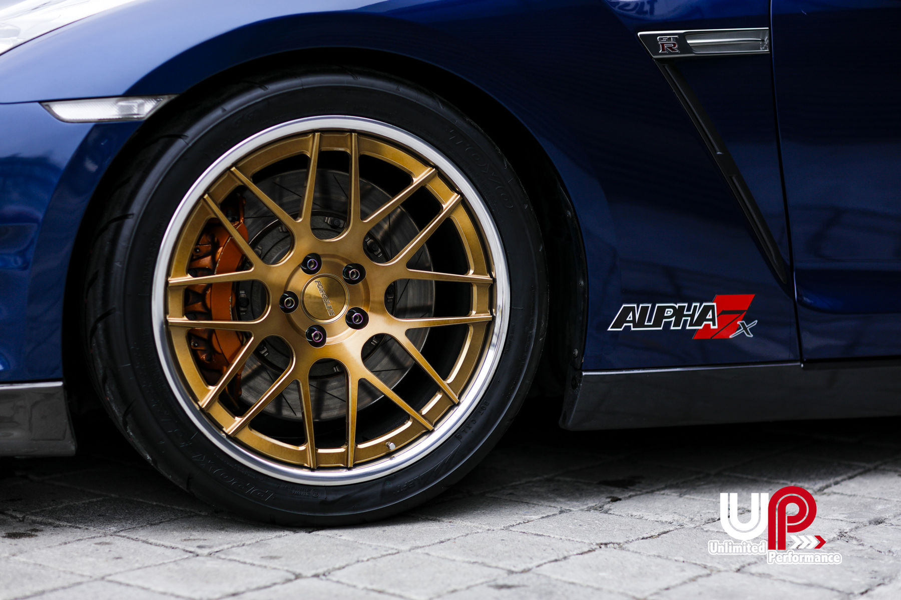 2015 Nissan GT-R | AMS Alpha 7-Powered R35 Nissan GT-R on Forgeline DE3C Concave Wheels