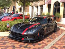 Keith Brantley's Dodge Viper ACR on Forgeline One Piece Forged Monoblock GTD1-Viper Wheels