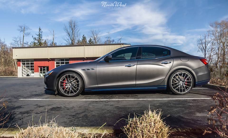 2015 Maserati Ghibli | Maserati Ghibli full XPEL STEALTH Matte Wrap