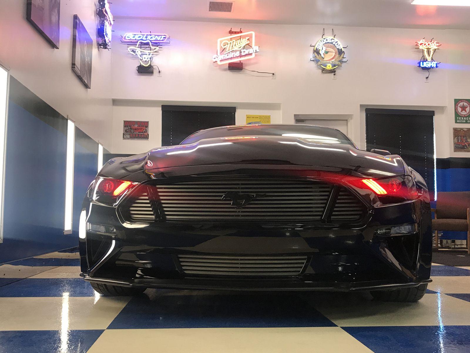 2018 ford mustang fastback by deberti design front lights fordsema