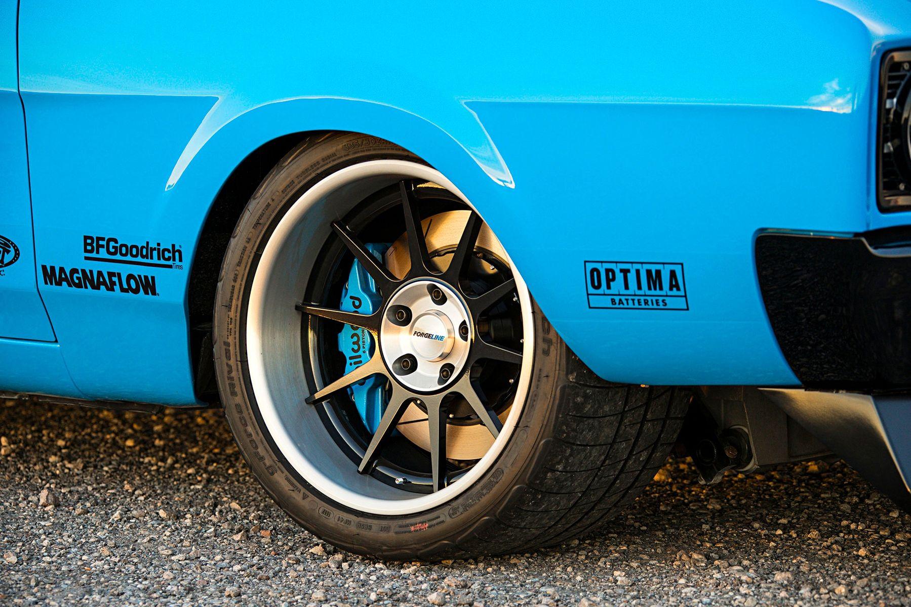 1969 Mercury  | Jim McIlvaine's Pro-Touring Mercury Cyclone on Forgeline Rebel Wheels