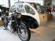 Sidecar for passengers who don't like sidecars
