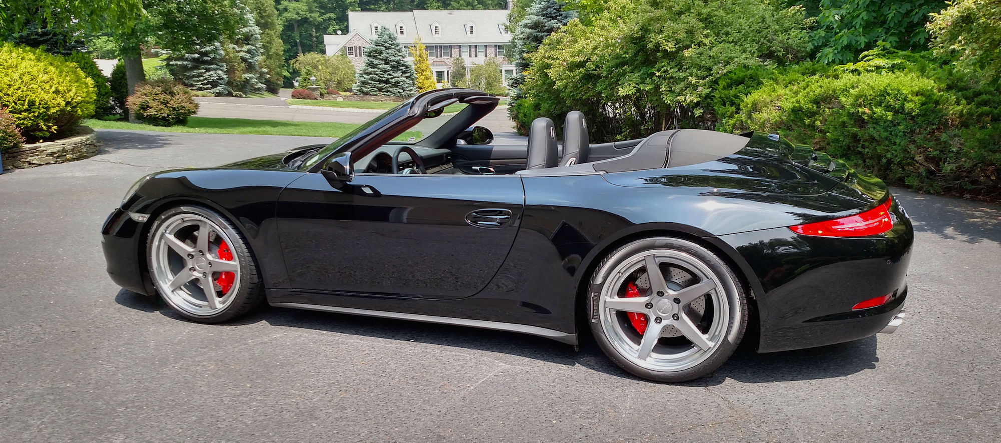 2015 Porsche 911 |  991 Porsche Carrera 911 4S Cabriolet on Forgeline CF3C-SL Wheels