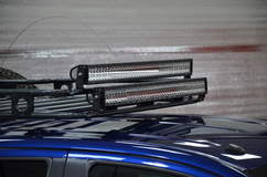N-FAB TRD PRO Build - Toyota Tundra Roof Rack LEDS