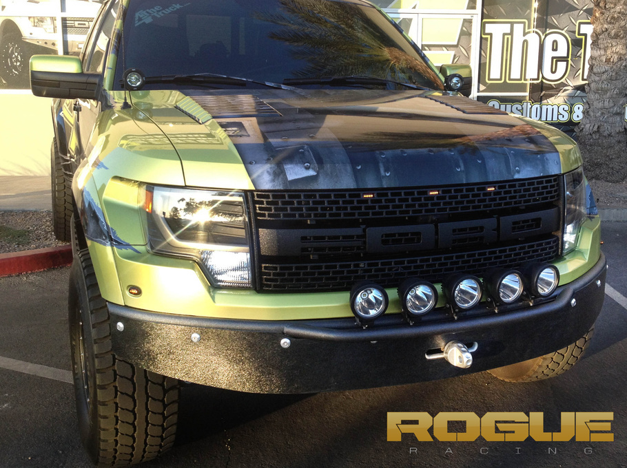 2011 Ford F-150 | Rogue Racing Raptor with Trophy Bumper