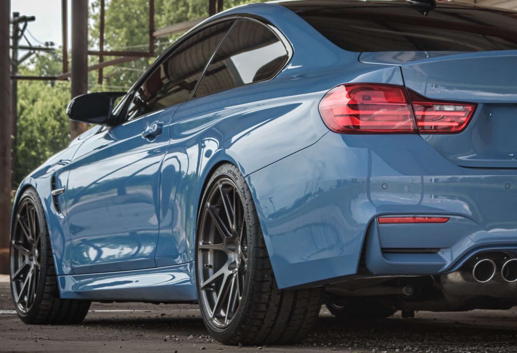 2015 BMW M4 | BMW M4 on Forgeline GA1R Wheels