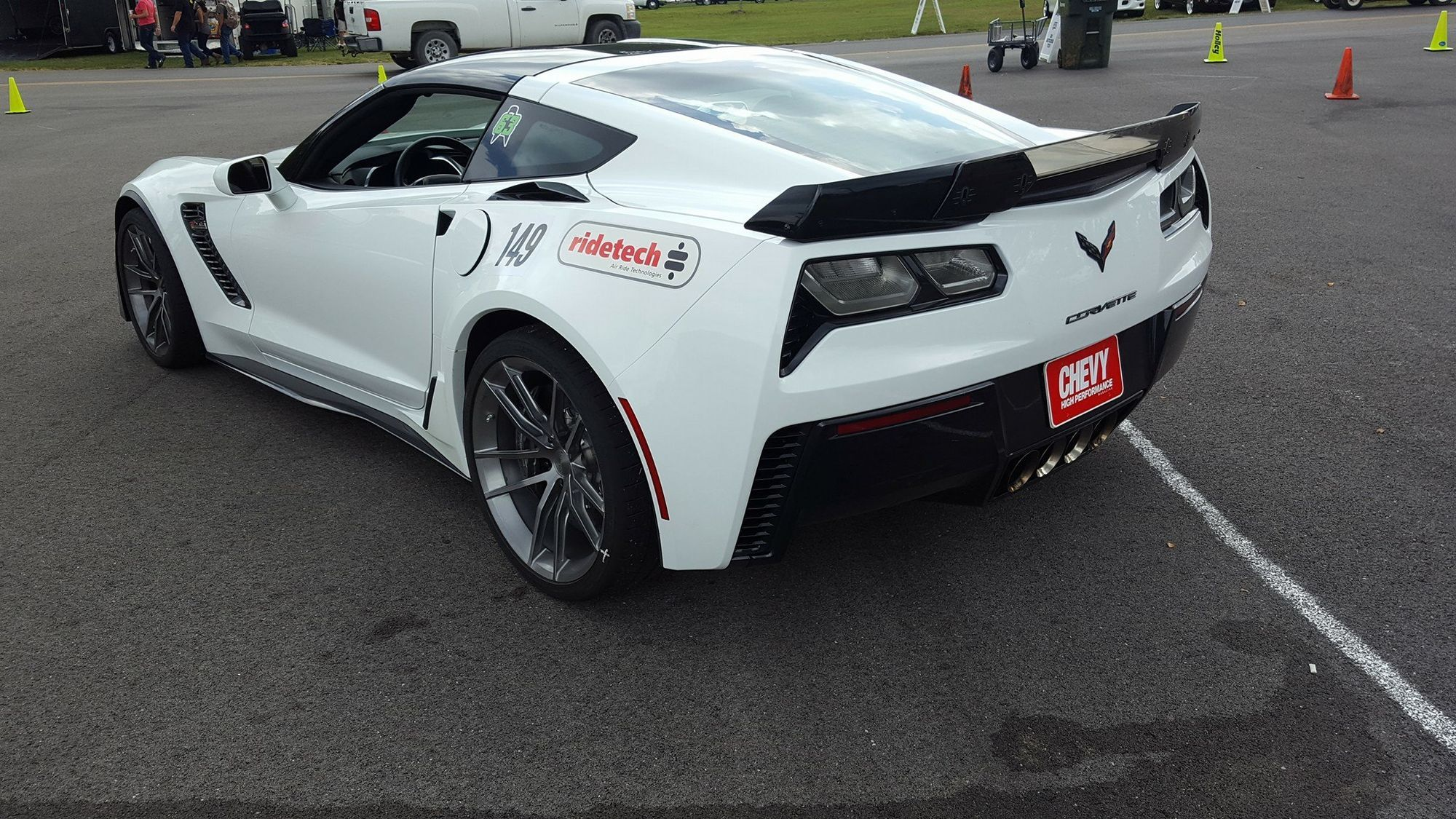 2017 Chevrolet Corvette Z06 | Bret Voelkel Wins 3S Challenge at the 2016 LS Fest in the RideTech C7 Corvette Z06 on Forgeline One Piece Forged Monoblock AR1 Wheels