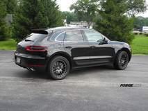 Troy's Porsche Macan on Forgeline DE3C Concave Wheels