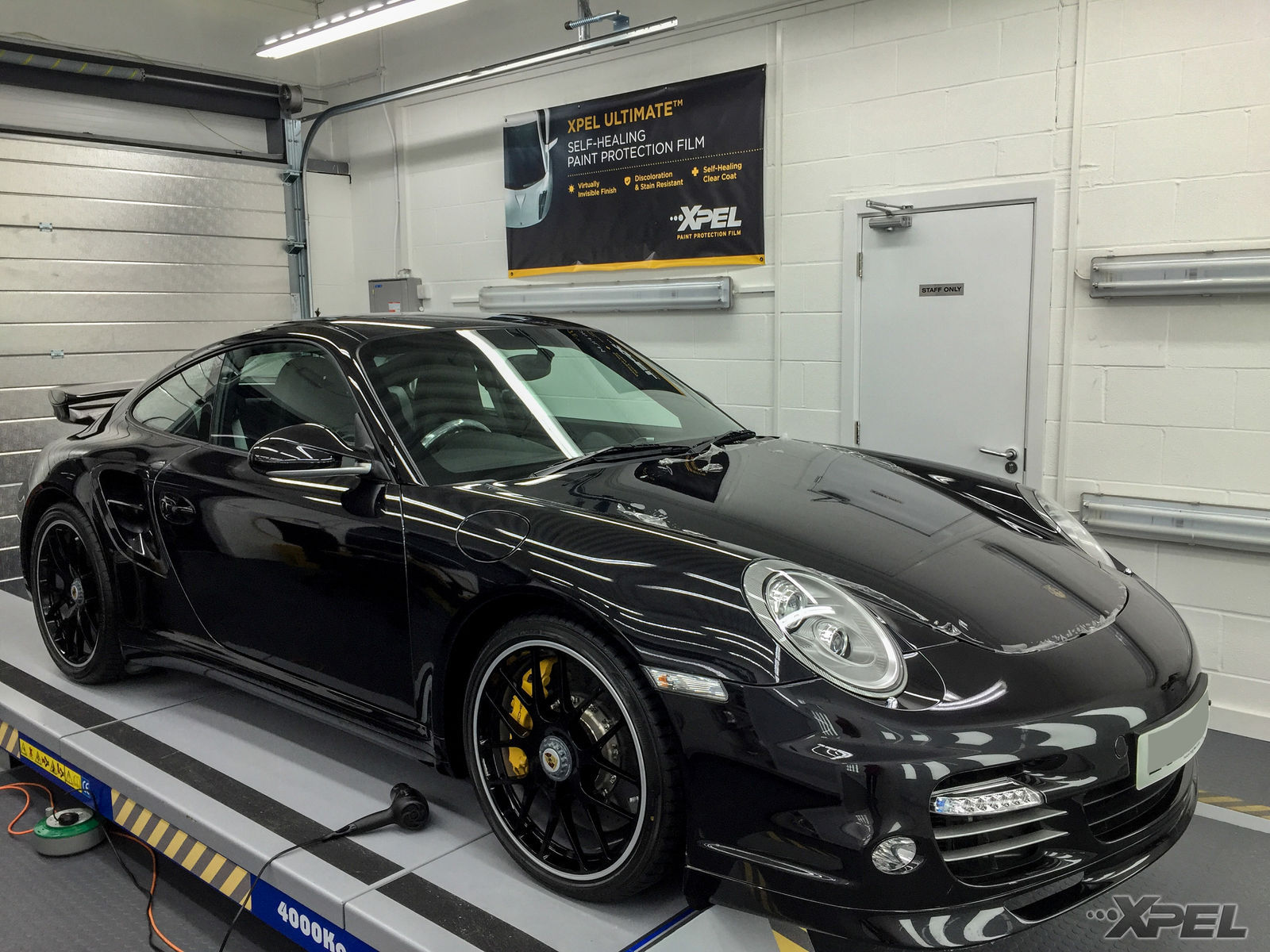   Beautiful car at our shop for XPEL ULTIMATE