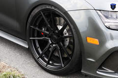 Gray Audi RS 7 - Front Wheel