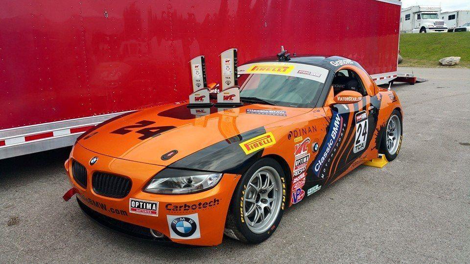 BMW Z4 |  BMW Z4 on Forgeline GA3R Wheels