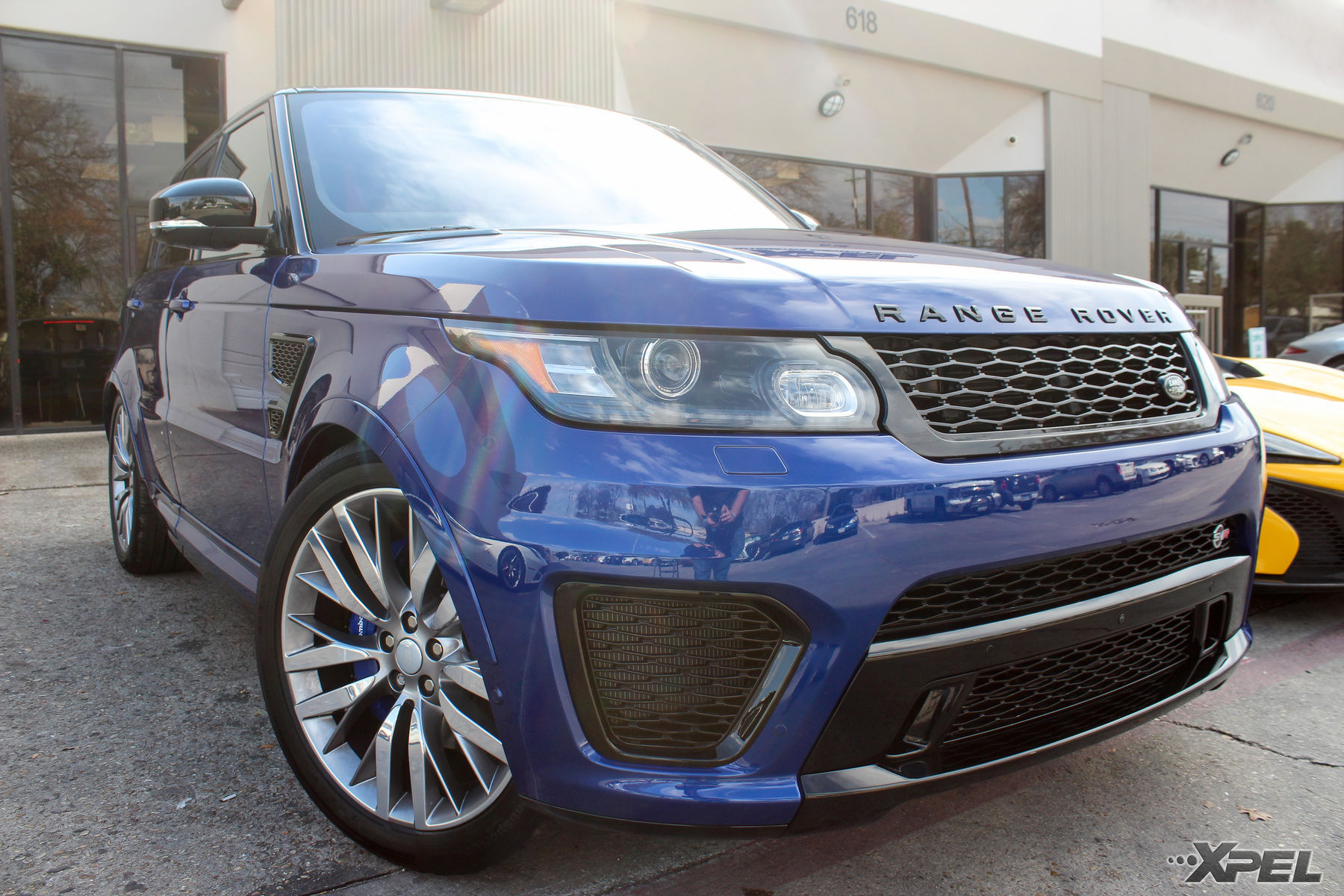 Land Rover Range Rover Sport | 2016 Land Rover Range Rover Sport SVR with XPEL ULTIMATE