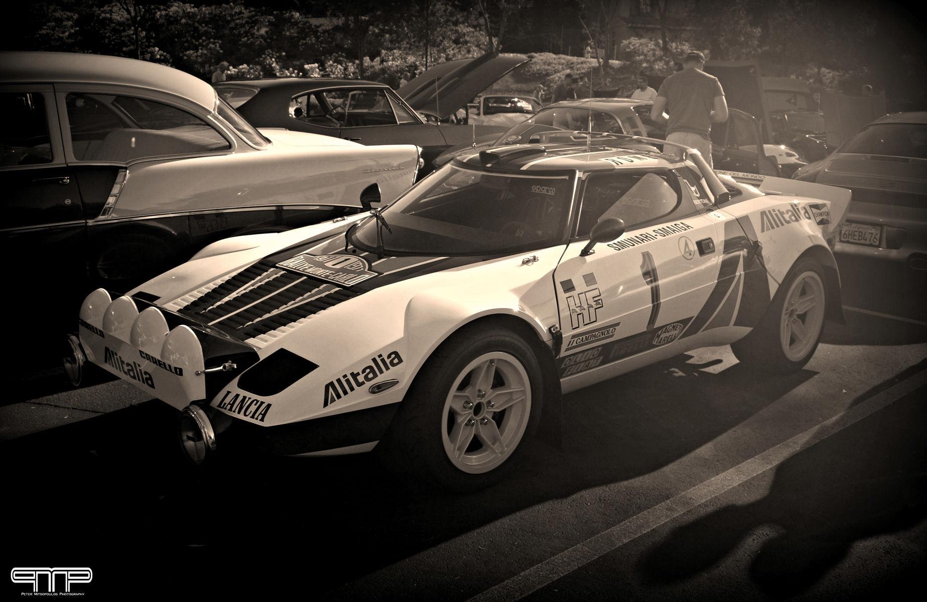 | Lancia Stratos Rally Car