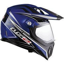 LS2 Gears Dual Sport Helmet