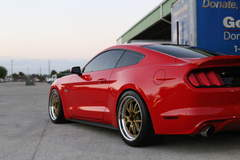 Sharad's UPR Products Mustang GT on Forgeline GA3R Open Lug Wheels