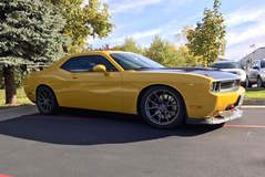 Alliance 3 Motorsport's Dodge Challenger on Forgeline One Piece Forged Monoblock GA1R Wheels