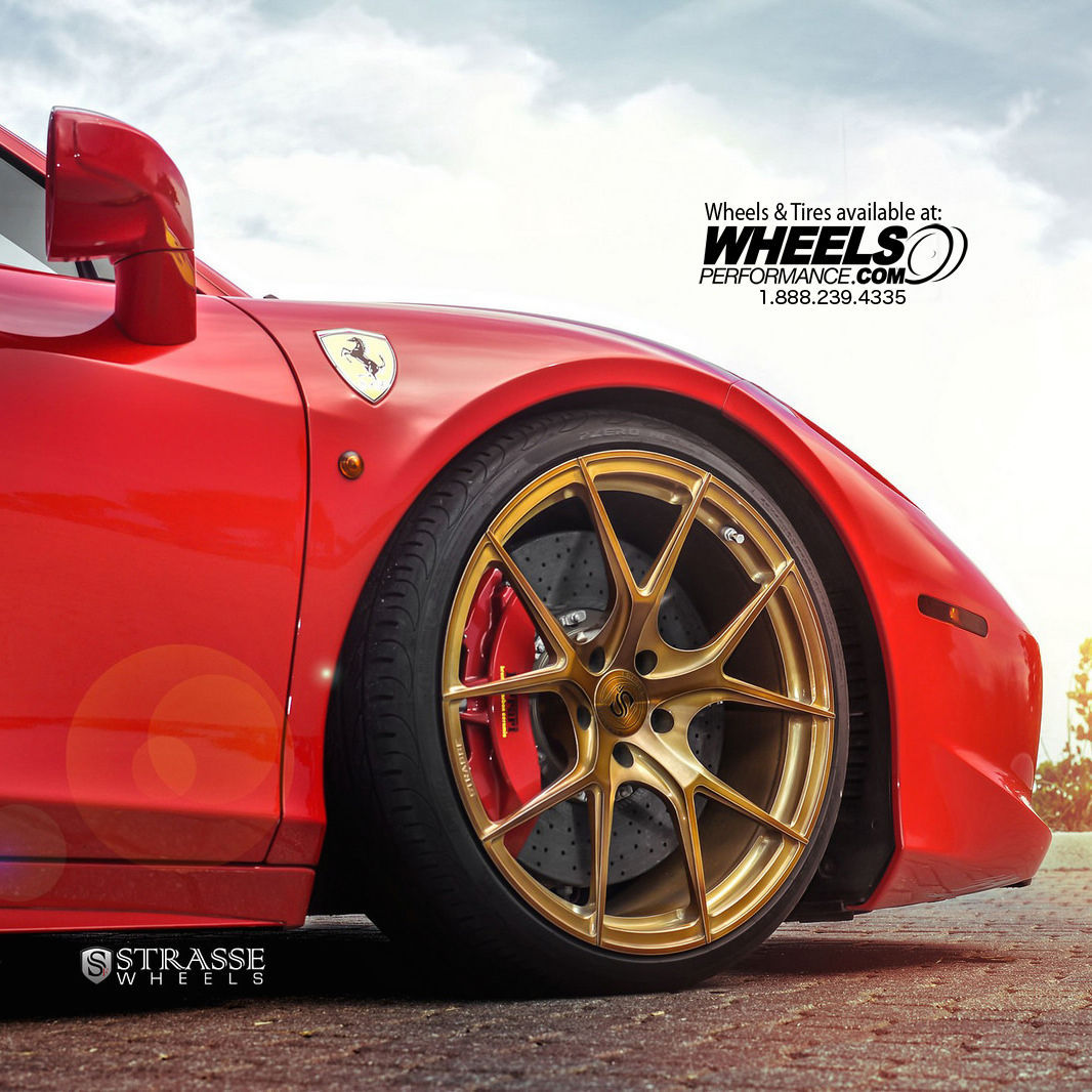 Ferrari 458 Italia | Strasse Forged SM5R Deep Concave Monoblock