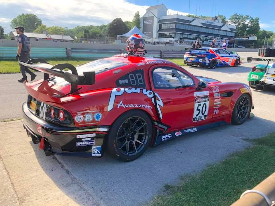 2018 Panoz  | Ian James Dominates Pirelli World Challenge GTS at Road America in the #50 Panoz Avezzano on Forgeline One Piece Forged Monoblock GS1R Wheels