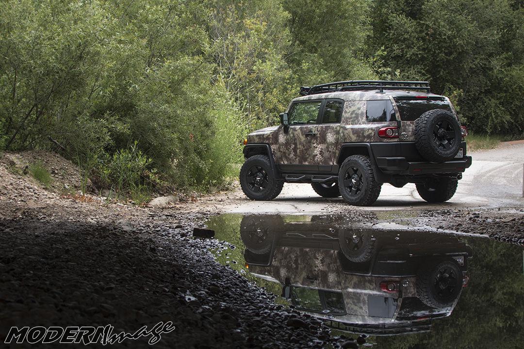 Toyota FJ Cruiser | FJ Cruiser Mandrake Kryptek Camo