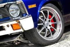 Randy Clark's '72 Chevy Nova on Forgeline ZX3P Wheels