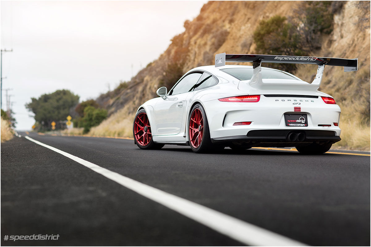 2015 Porsche 911 | Josh Shokri's Speed District Porsche 991 GT3 on Forgeline One Piece Forged Monoblock VX1R Wheels