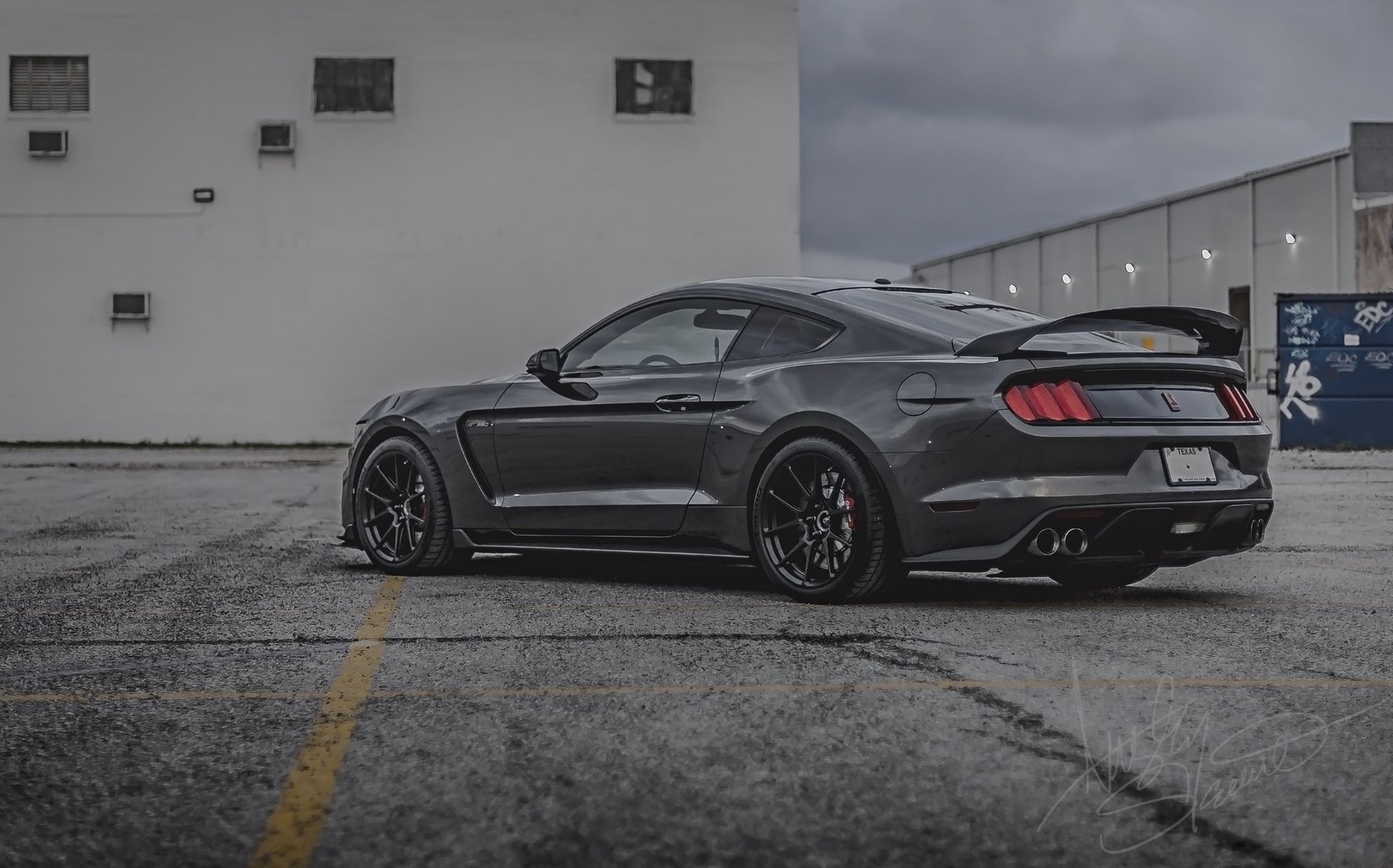 2017 Ford Mustang | Ansley Stewart's Mustang Shelby GT350R on Forgeline One Piece Forged Monoblock GS1R Wheels