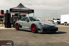 Josh Shokri's 991 Porsche GT3 on Forgeline One Piece Forged Monoblock VX1R Wheels