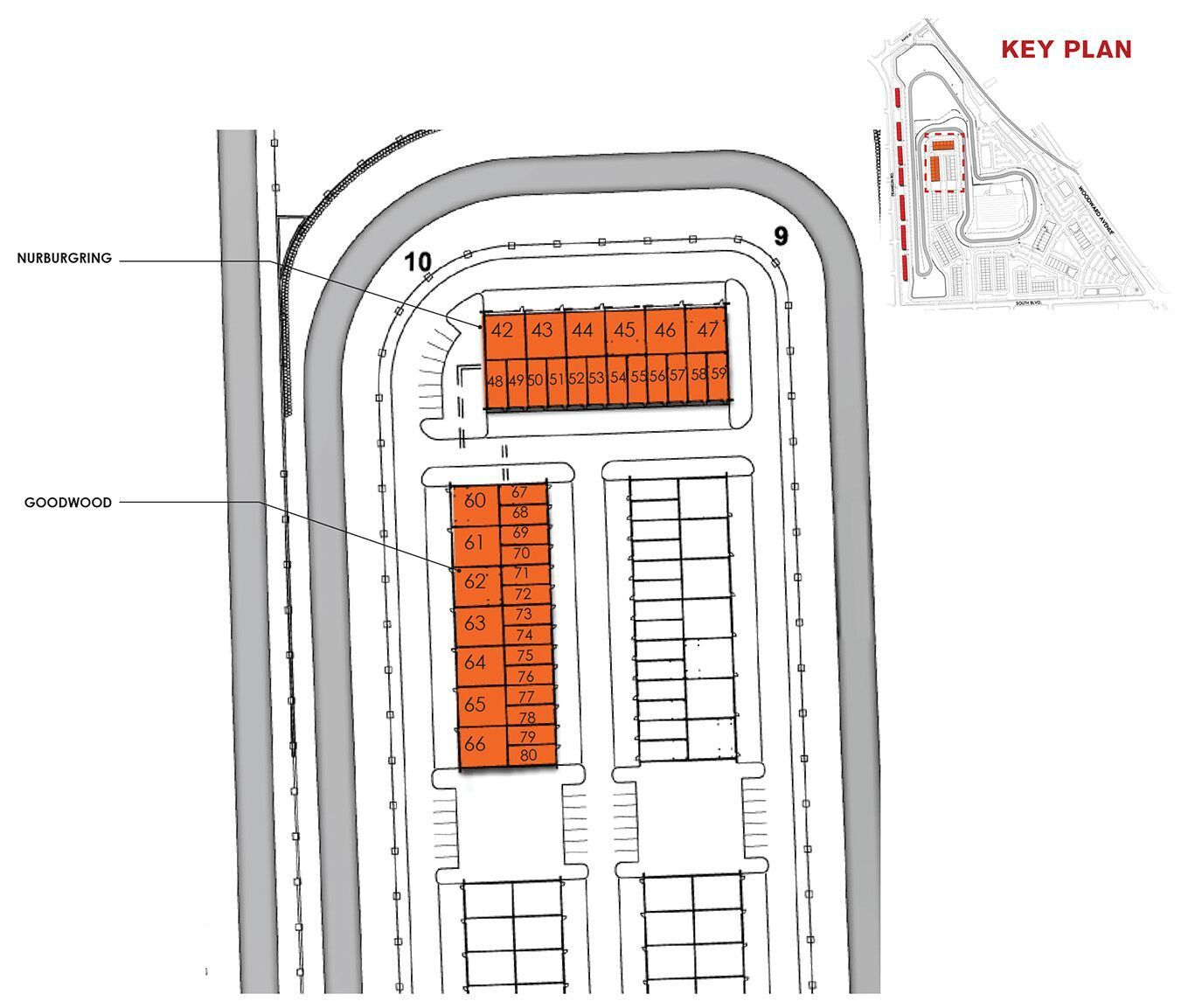 | M1 Concourse Garage Layout