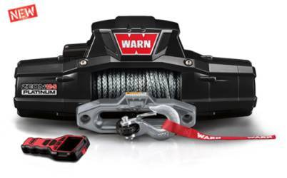 Warn Zeon 12S Winch and Premium Hook
