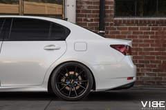 """Lexus GS350 on 20"""" Gianelle Wheels - Driver Side Rear Wheel"""