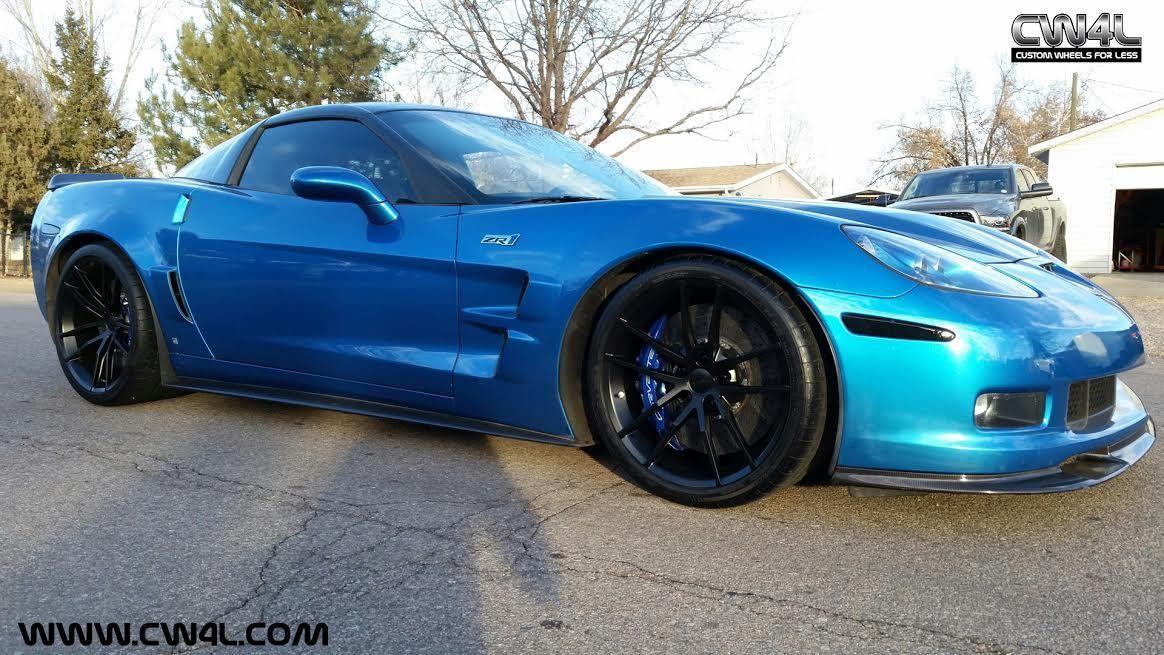 2013 Chevrolet Corvette ZR1 | Daren Plenzig's Corvette ZR1 on Forgeline One Piece Forged Monoblock AR1 Wheels