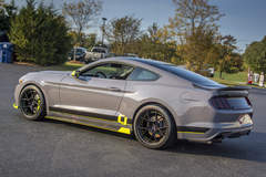 2017 Ford Mustang EcoBoost SEMA Build by CJ Pony Parts #FordSEMA