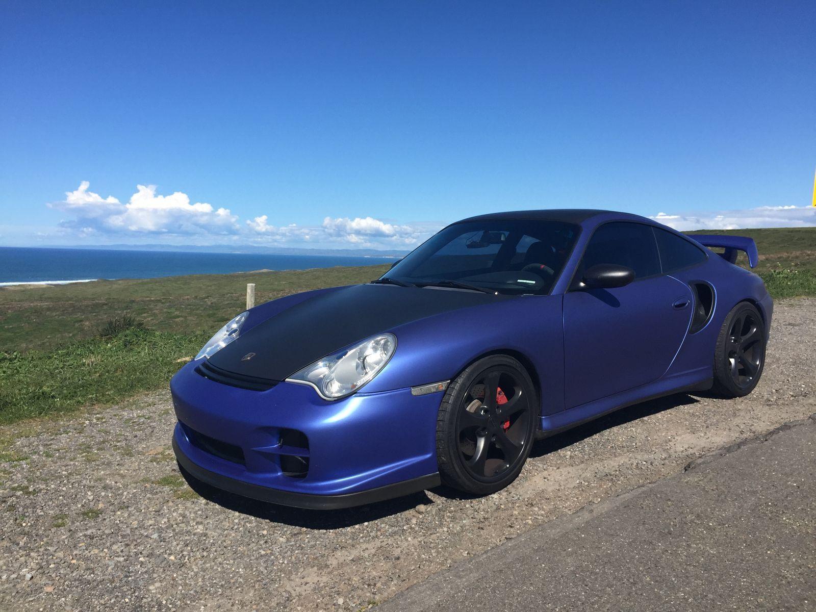 2001 Porsche 911 | Porsche 911 Turbo Matte Blue