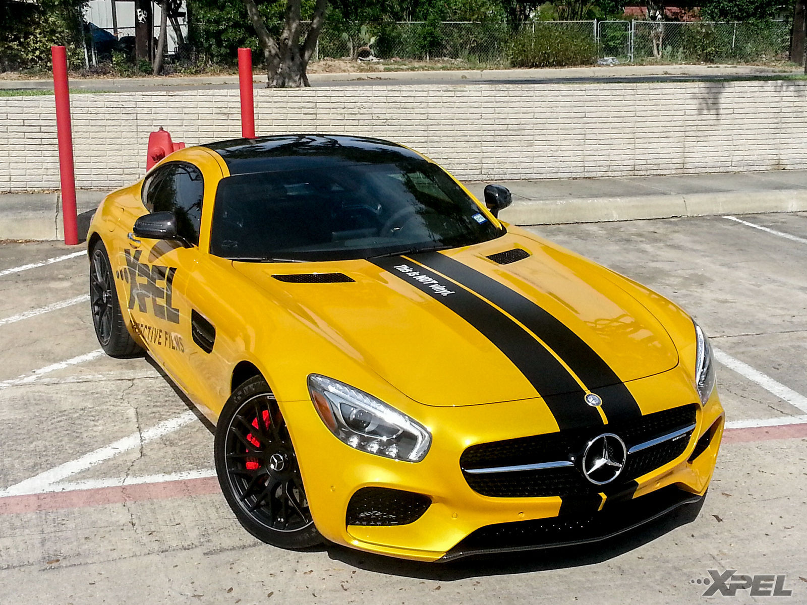 2016 Mercedes-Benz SLS AMG GT   The beautiful Mercedes AMG GT S wrapped in XPEL