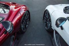 McLaren P1s @ McLaren San Francisco