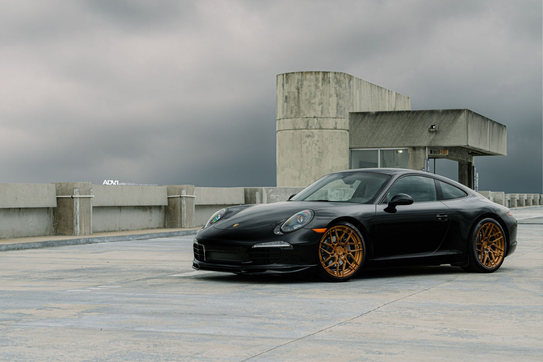 Porsche 911 | ADV.1 Wheels Porsche 991 Carrera