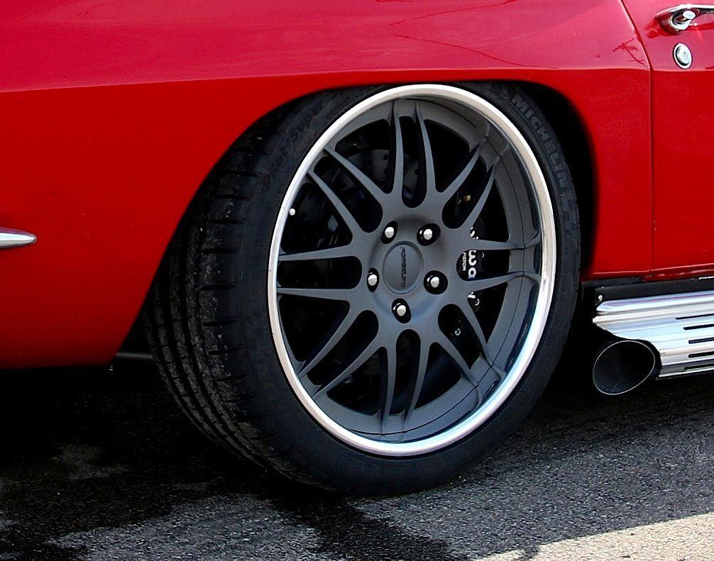1967 Chevrolet Corvette | Jame's 1967 Corvette Convertible on Forgeline DE3P Wheels