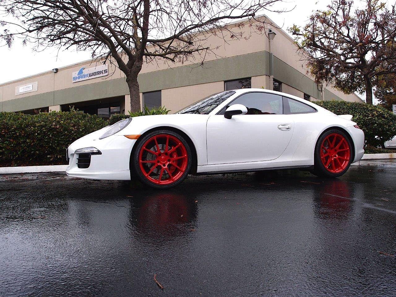 2015 Porsche 911 | Sharkwerks Porsche 991 C4S on Forgeline One Piece Forged Monoblock GA1R Wheels