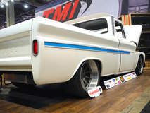 James Otto's C-10 Truck on Forgeline RB3C Wheels - Rear View