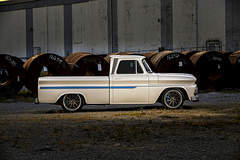 "James Otto's ""For Pete's Sake"" 1966 Chevy C10 on Forgeline RB3C Wheels"