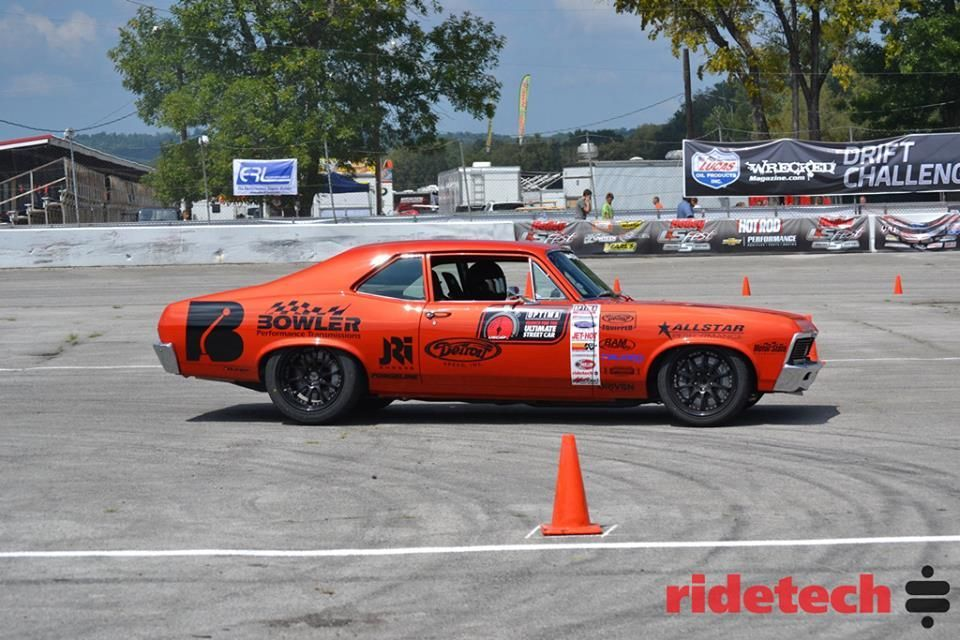 1972 Chevrolet Nova | Billy Utley Wins High Noon Autocross Shootout at 2014 LF Fest on Forgeline ZX3R Wheels