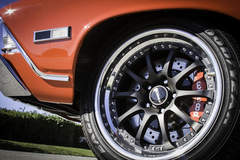 Forgeline ZX3R Wheels and Wilwood Disc Brakes on Bob A's '68 Chevelle Convertible by JCG Restoration and Customs