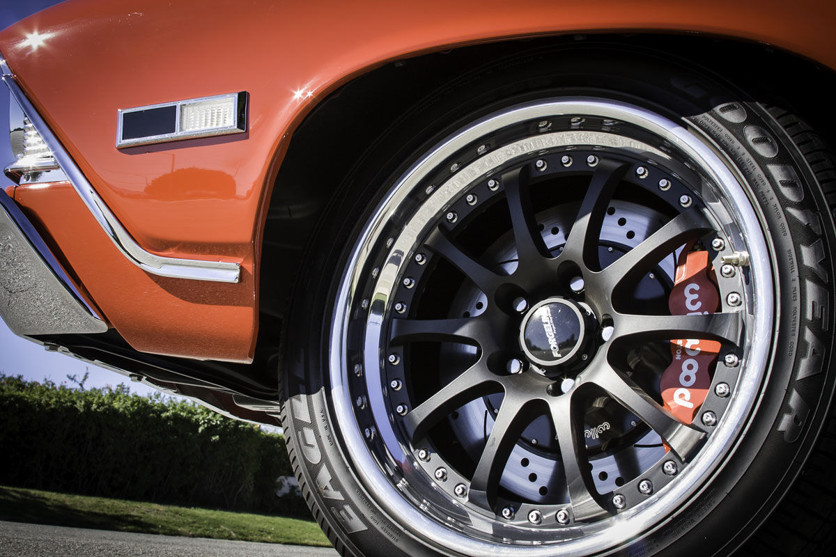 1968 Chevrolet Chevelle | Forgeline ZX3R Wheels and Wilwood Disc Brakes on Bob A's '68 Chevelle Convertible by JCG Restoration and Customs