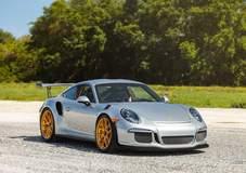 Titan Motorsports Porsche GT3 RS on Forgeline One Piece Forged Monoblock VX1R Wheels