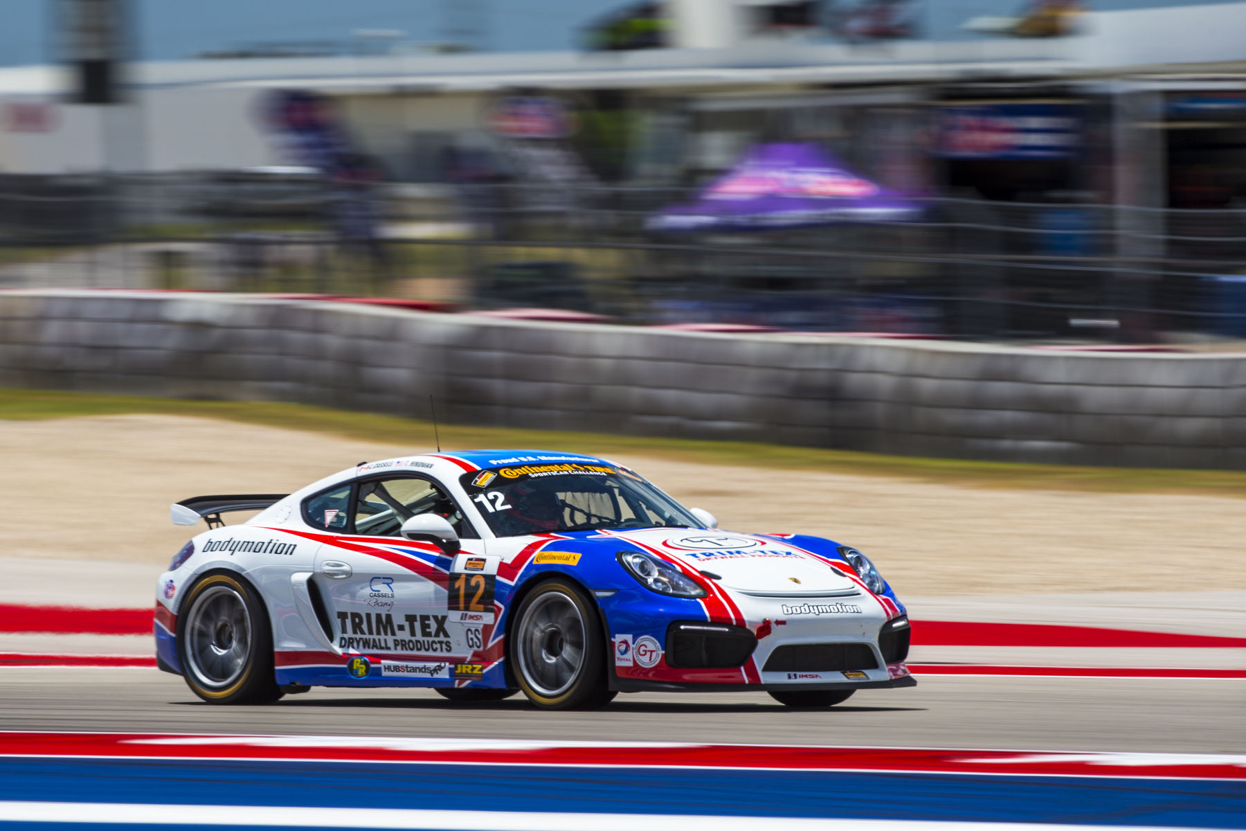 2017 Porsche Cayman | Victory in the Advance Auto Parts Sportscar Showdown at COTA