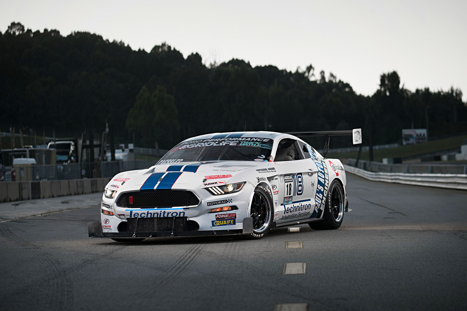 2015 Ford Mustang | Brian Faessler's Paul's Automotive Engineering Mustang GT350R on Forgeline GA3R Wheels
