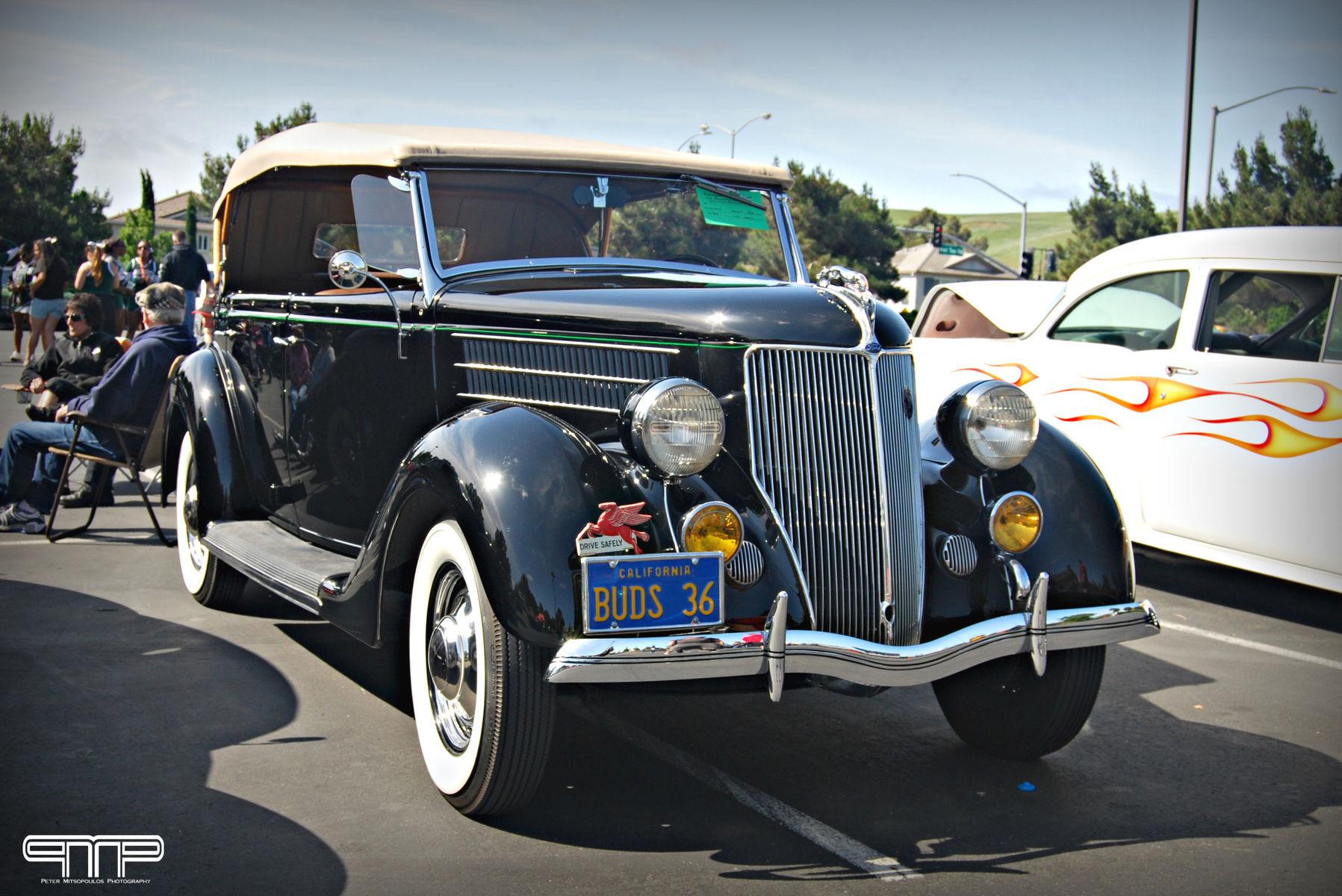1936 Ford    1936 Ford Phaeton Convertible
